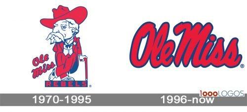 Mississippi Rebels Logo history