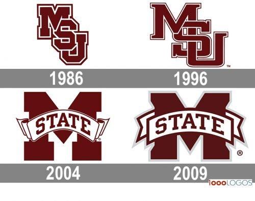 Mississippi State Bulldogs Logo history