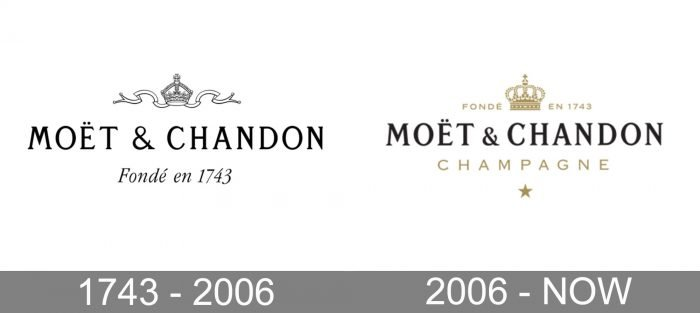 Moet Chandon Logo history