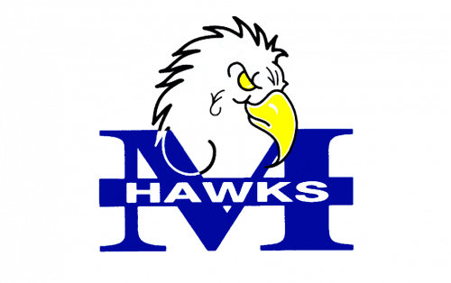 Monmouth Hawks Logo-1993