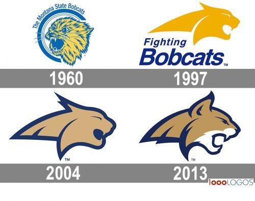 Montana State Bobcats Logo history