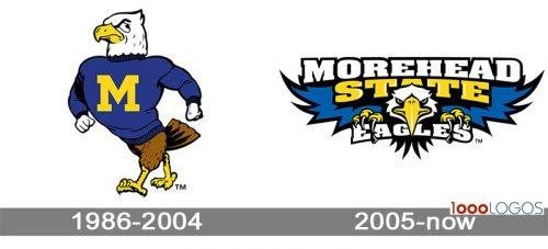 Morehead State Eagles Logo history