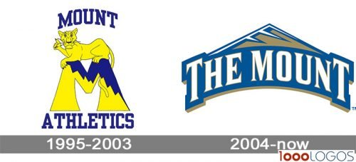 Mount St Marys Mountaineers Logo history