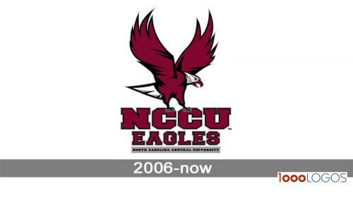 NCCU Eagles logo history