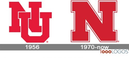 Nebraska Cornhuskers logo history