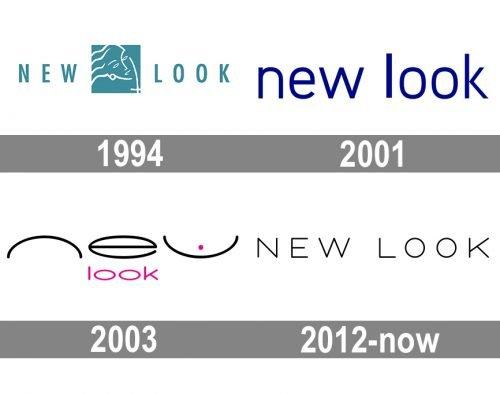 New Look Logo history