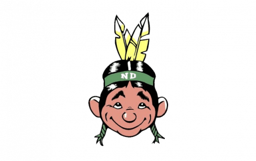 North Dakota Fighting Hawks Logo-1959