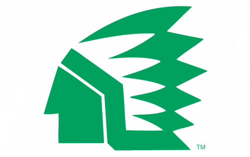 North Dakota Fighting Hawks Logo-1976