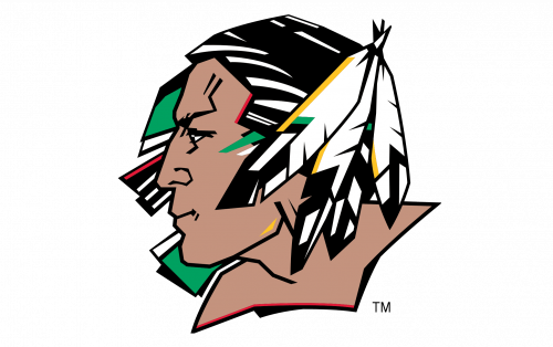 North Dakota Fighting Hawks Logo-2007