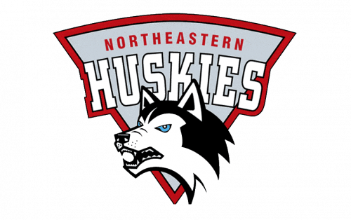 Northeastern Huskies Logo-1992