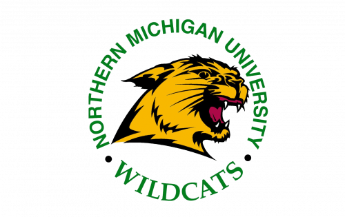 Northern Michigan Wildcats Logo-1993
