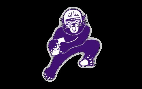 Northwestern Wildcats Logo-1959