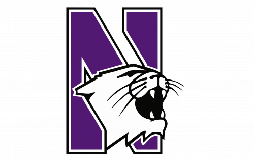 Northwestern Wildcats Logo-1981