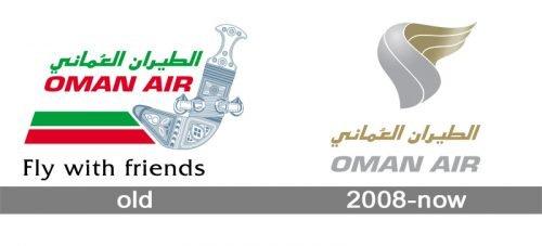 Oman Air Logo history