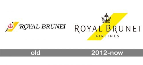 Royal Brunei Airlines Logo history
