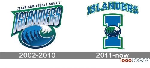 Texas AM CC Islanders Logo history