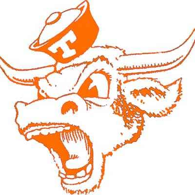Texas Longhorns Logo 1966
