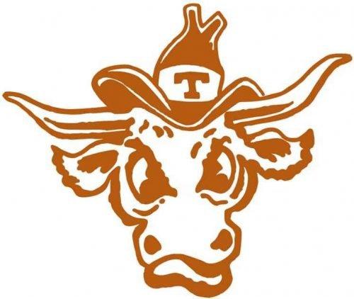 Texas Longhorns Logo 1977