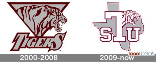 Texas Southern Tigers Logo history