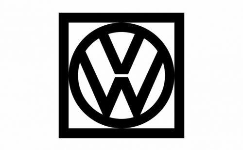 Volkswagen Logo 1960