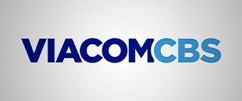 Re-merged Viacom and CBS present a logo combining their names