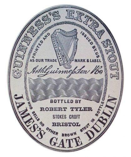 Guinness logo 1862
