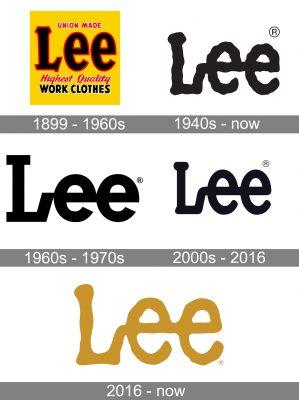 Lee Cooper Logo history