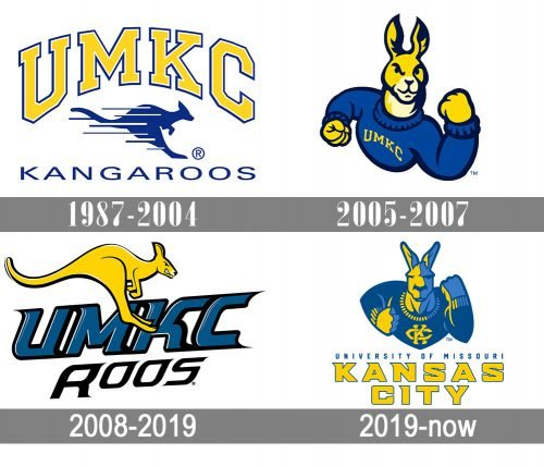 UMKC Kangaroos Logo history