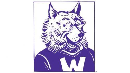 Washington Huskies Logo 1959