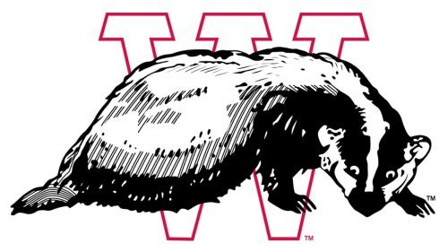 Wisconsin Badgers Logo 1936