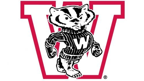 Wisconsin Badgers Logo 1948