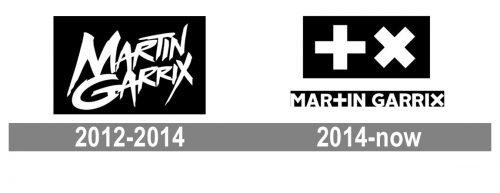 Martin Garrix Logo history