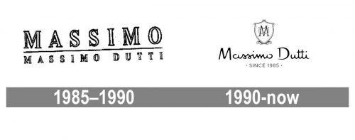 Massimo Dutti Logo history