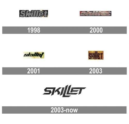 Skillet Logo history