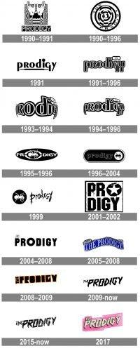The Prodigy Logo history