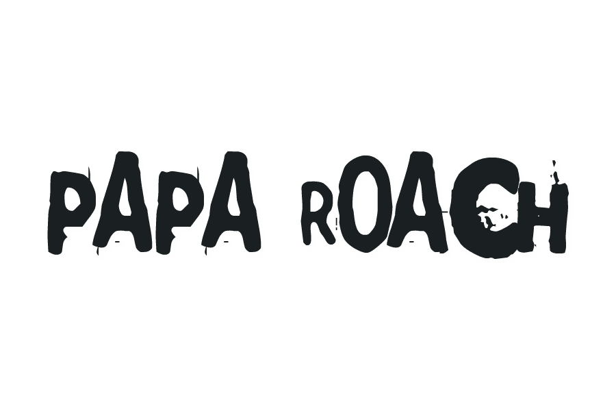 Papa Roach Logo 2000