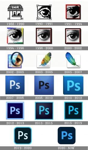 Photoshop Logo history