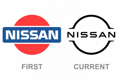 logo Nissan first current