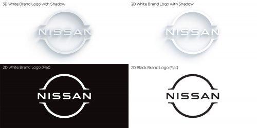 Nissan new logo 2020