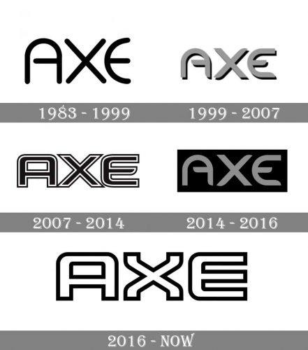 AXE Logo history