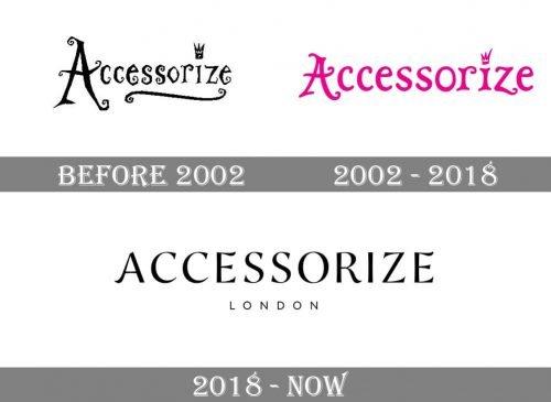 Accessorize Logo history