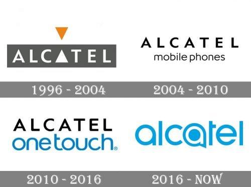Alcatel Logo history