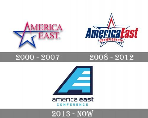 America East Conference Logo history