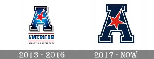 American Athletic Conference Logo history