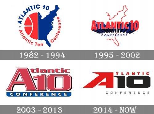 Atlantic 10 Conference Logo history