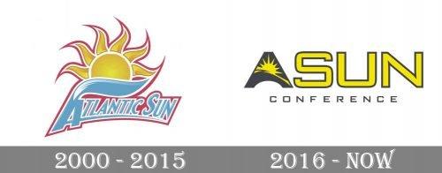 Atlantic Sun Conference Logo history