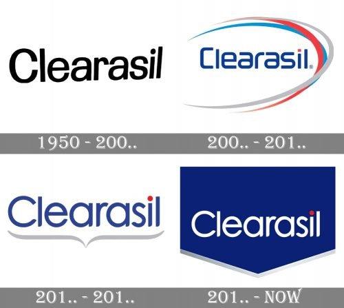Clearasil Logo history