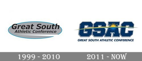 Great South Athletic Conference Logo history