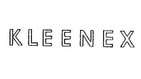 Kleenex Logo-1932