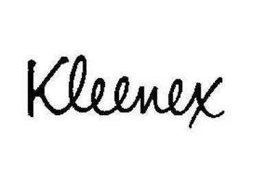 Kleenex Logo-1960